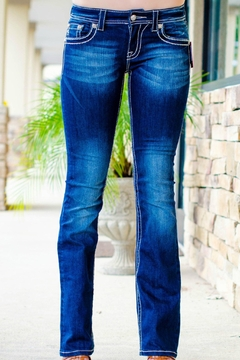 Miss Me Washed Boot-Cut Jeans - Alternate List Image