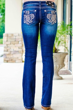 Miss Me Washed Boot-Cut Jeans - Product List Image