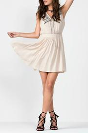 Miss Me Western Chic Embroidered Dress - Product Mini Image