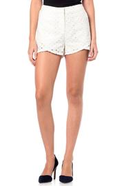 Miss Me White Eyelet Short - Product Mini Image