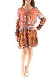Miss Me Woven Paisely Dress - Product Mini Image