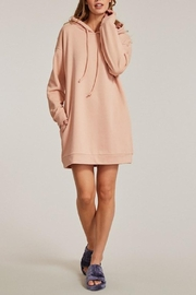 Miss Sparkling Mareena Pocketed Hoodie Dress - Product Mini Image
