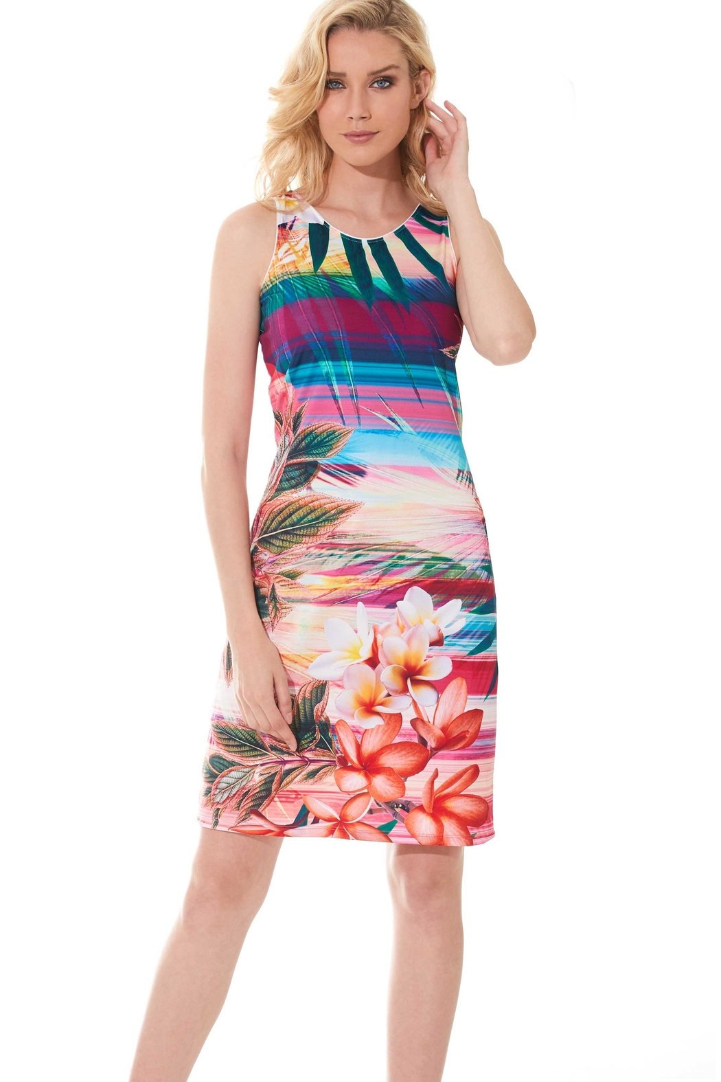 Miss Versa Sun Safe Dress - Front Cropped Image