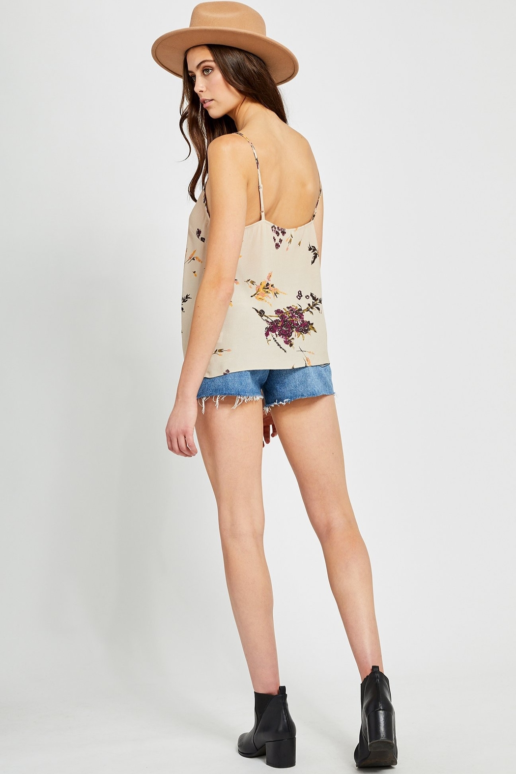 Gentle Fawn Missouri Floral Cami - Side Cropped Image