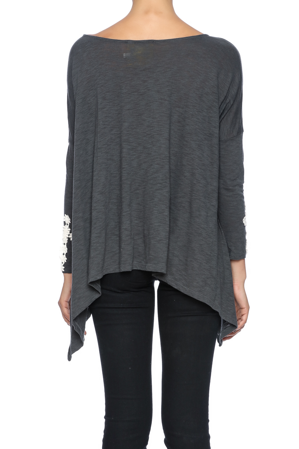 Missy Robertson Ali Cross Top - Back Cropped Image