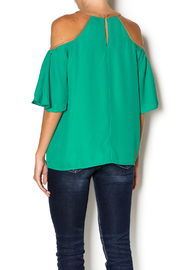 Missy Robertson Cold Shoulder Top - Back cropped
