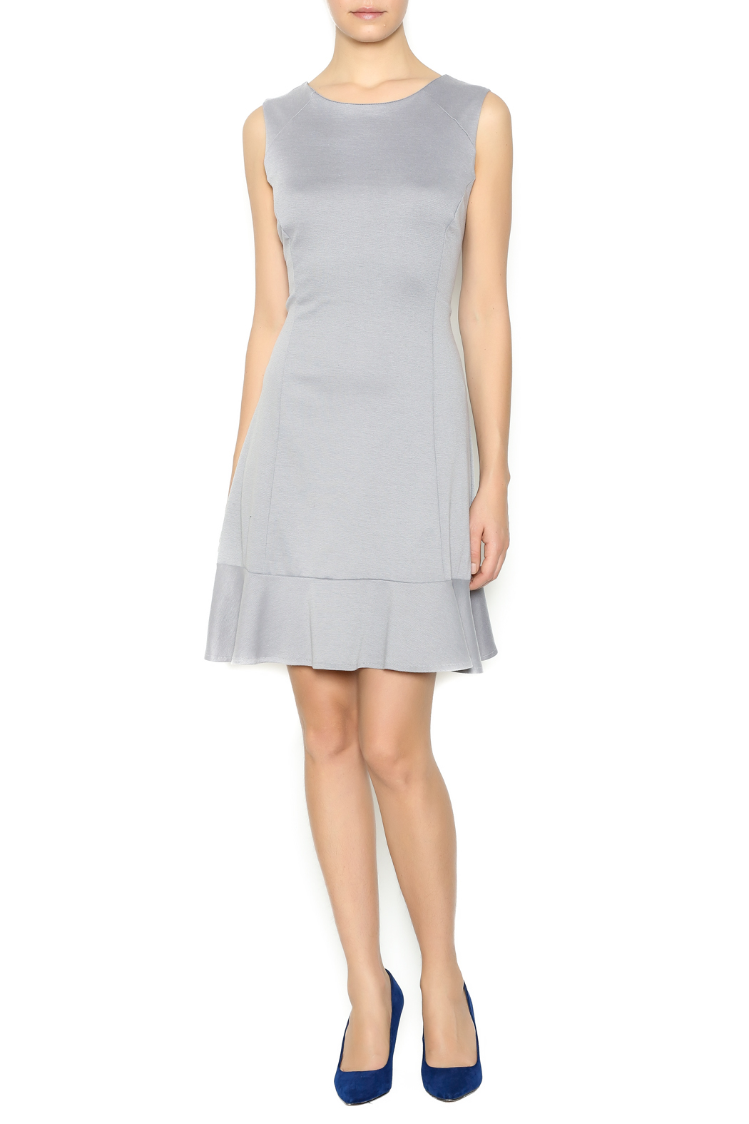 Missy Robertson Grey Dress - Front Full Image