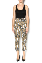 Shoptiques Product: Lightning Bolt Print Pant - Front full body