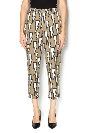 Shoptiques Product: Lightning Bolt Print Pant - main