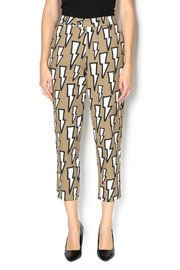 Shoptiques Product: Lightning Bolt Print Pant - Front cropped