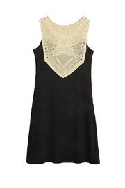 Missy Robertson Black Crochet-Top Dress - Product Mini Image