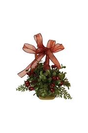 Ganz Gifts Mistletoe Bell Ornament - Product Mini Image
