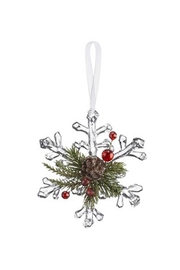 Ganz Mistletoe Krystal Ornament - Product Mini Image