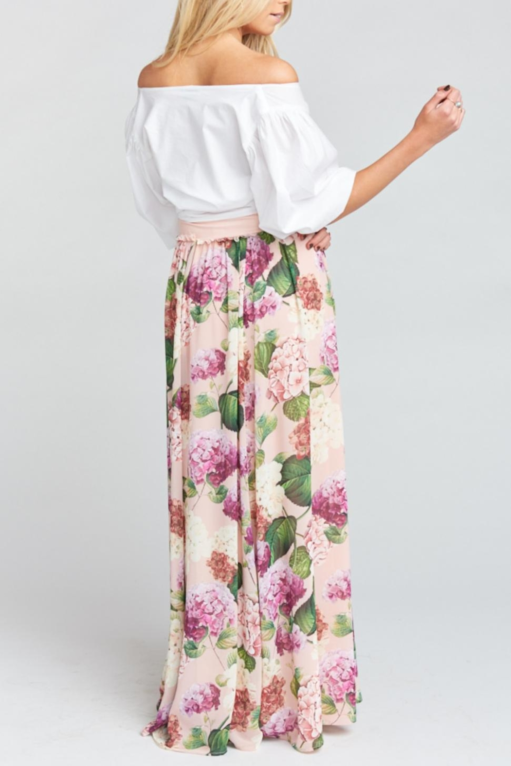 Show Me Your Mumu Misty Maxi Skirt - Side Cropped Image