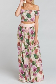 Show Me Your Mumu Misty Maxi Skirt - Back cropped