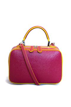 Shoptiques Product: Small Leather Bauletto Bag