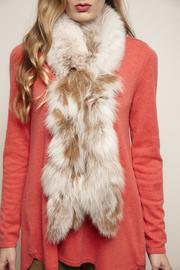 Mitchies Matching Blush Fox Scarf - Product Mini Image