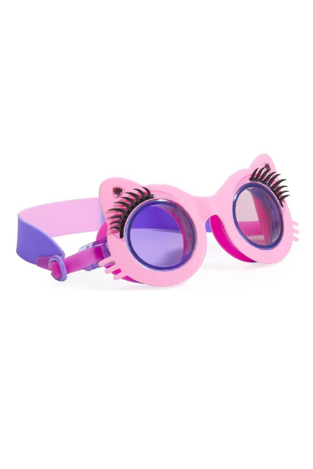 Bling20 Mittens Pawdry Hepburn Swim Goggles - Front Cropped Image
