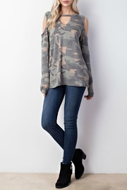 Mittoshop Abbey Camo Top - Product Mini Image