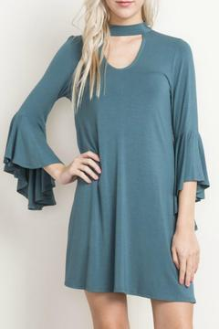 Shoptiques Product: Bamboo Bell Sleeve Dress