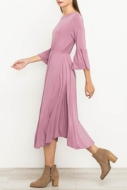 Mittoshop Bell Sleeve Dress - Side cropped