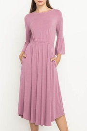 Mittoshop Bell Sleeve Dress - Product Mini Image