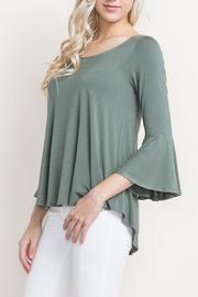 Mittoshop Bell Sleeve Top Open Back - Product Mini Image