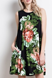 Mittoshop Black Floral Dress - Product Mini Image