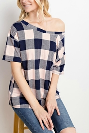 Mittoshop Blush Plaid Tunic - Product Mini Image