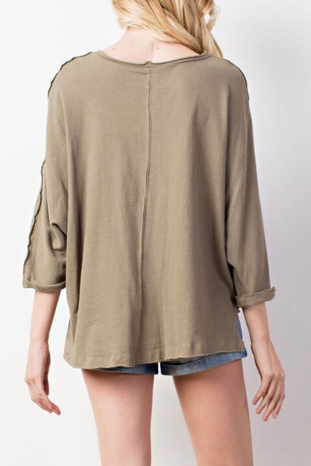 Mittoshop Braided Shoulder Top - Side Cropped Image