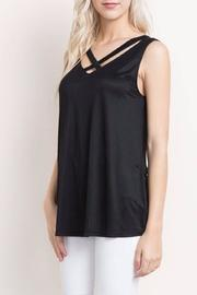 Mittoshop Caged Cutout Top - Product Mini Image