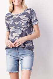 Mittoshop Camo Burnout Tee - Product Mini Image