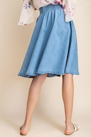 Mittoshop Chambray Skirt - Other