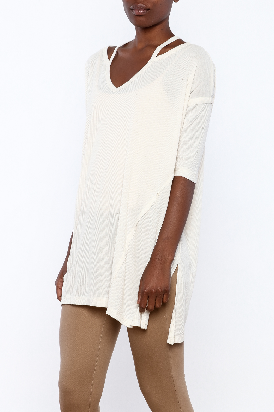 Mittoshop Cold-Shoulder Tunic from Tennessee by Soles of ...