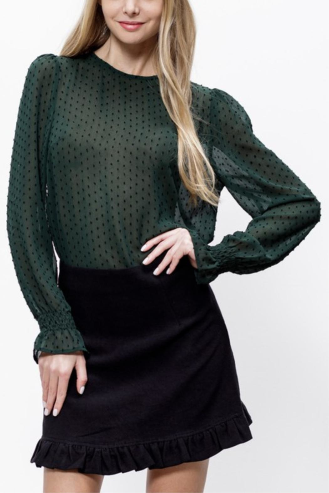 Mittoshop Connect The Dots Blouse - Side Cropped Image
