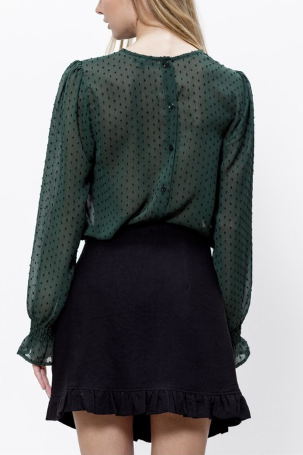 Mittoshop Connect The Dots Blouse - Back Cropped Image