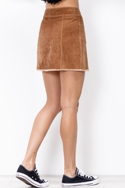 Mittoshop Corduroy Skirt Camel - Other