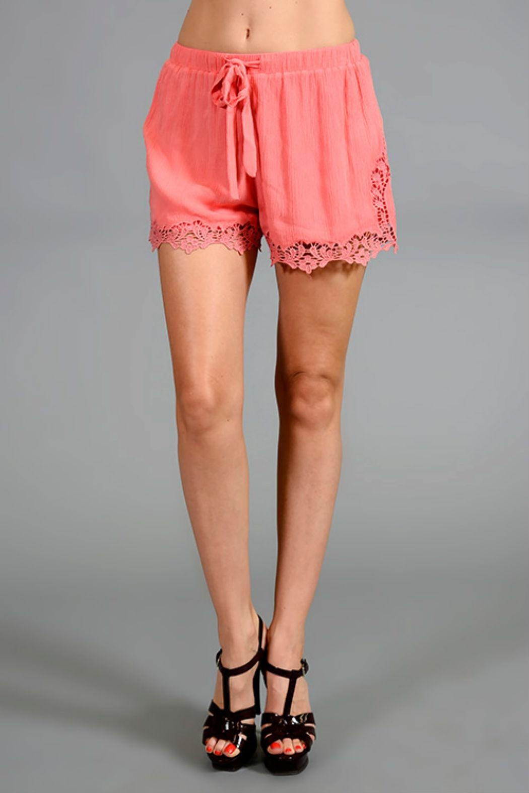 Mittoshop Crochet Shorts - Front Cropped Image