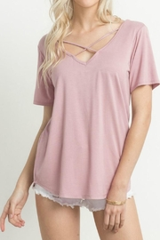Mittoshop Cross Front Shirt - Front cropped