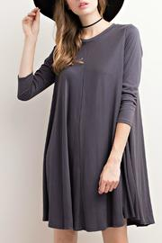 Mittoshop Cupro Ribbed Dress - Product Mini Image