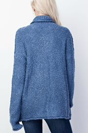 Mittoshop Denim Blue Sweater - Front full body