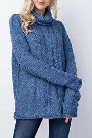 Mittoshop Denim Blue Sweater - Product Mini Image