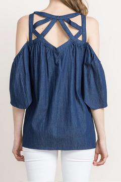 Shoptiques Product: Denim Criss Cross
