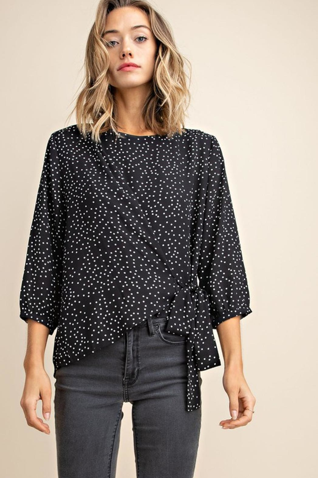 Mittoshop Dotted Blouse - Front Full Image