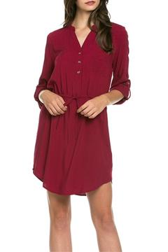 Shoptiques Product: Drawstring Shirt Dress