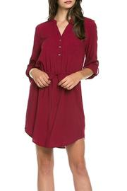 Mittoshop Drawstring Shirt Dress - Product Mini Image