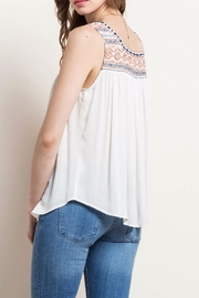 Mittoshop Embroidered Peasant Tank - Front full body