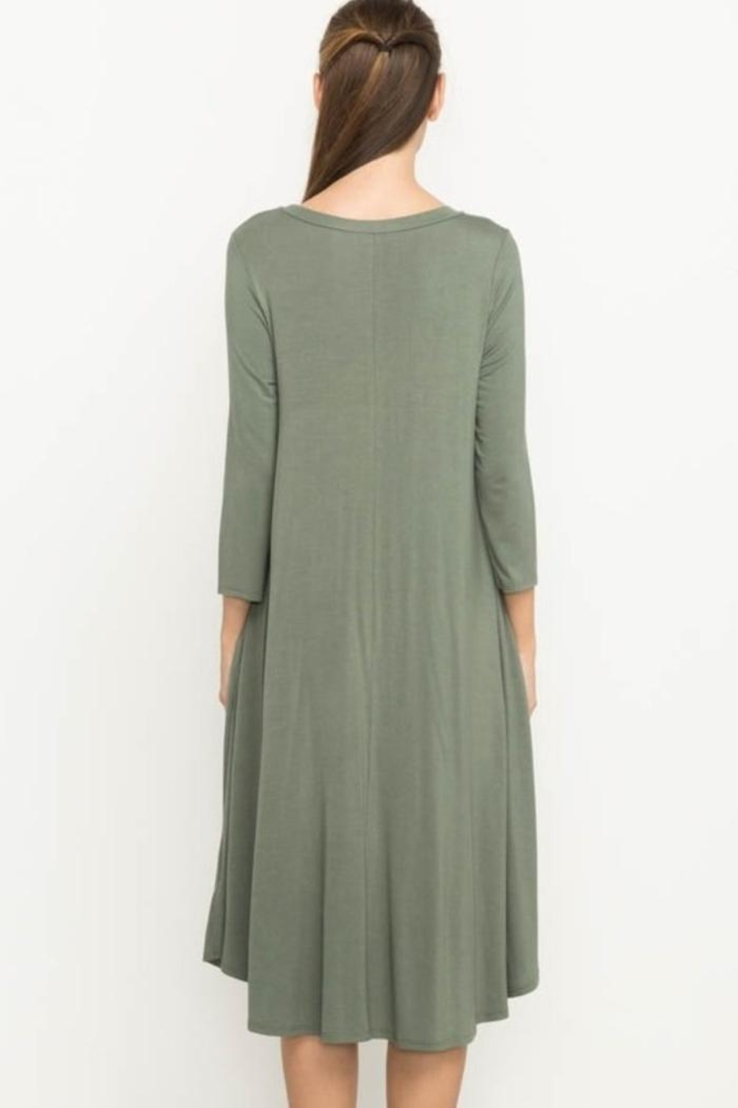 Mittoshop Everyday Dress - Side Cropped Image