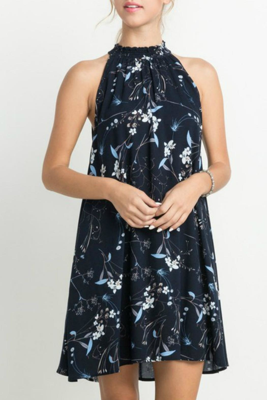 Mittoshop Floral Halter Dress - Main Image