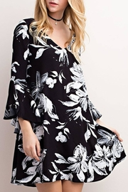 Mittoshop Floral Print Dress - Product Mini Image